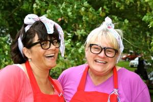 Joke en Coby bij de Zeepkisten race in Gorssel 2013